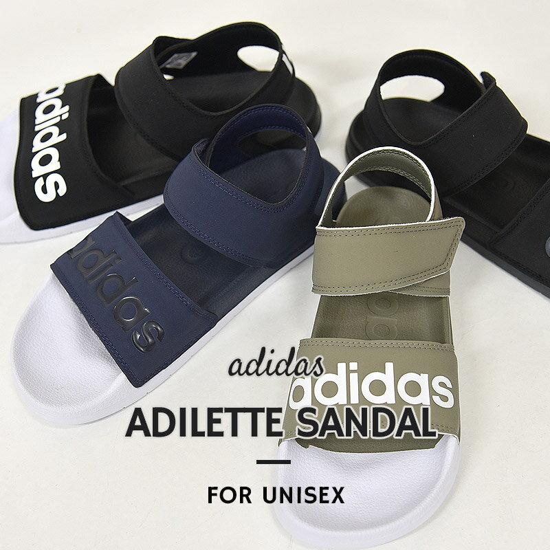 アディダス サンダル レディース メンズ スポーツ adidas アディレッタ サンダル F35414 F35415 F35416 F35417 カジュアル シューズ 靴 黒