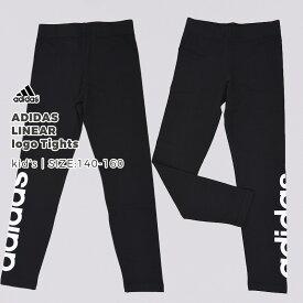 【メール便】アディダス adidas キッズ ガールズ G CORE リニアロゴ タイツ DV0337