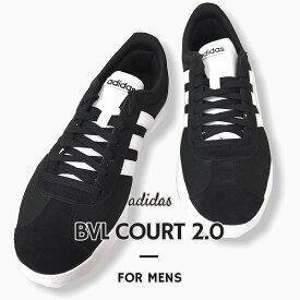 アディダス adidas スニーカー カジュアル シューズ 靴 ストリート VL COURT 2.0 VL コート 2.0 EG3940 黒
