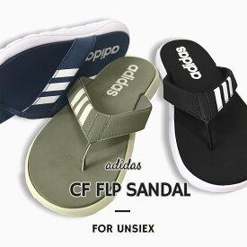アディダス adidas レディース メンズ スポーツサンダル ビーチサンダル CF FLP SANDAL EG2067 EG2068 EG2069 黒 紺