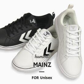 ヒュンメル hummel メンズ レディース スニーカー カジュアル シューズ 靴 ローカット MAINZ HM206729 2001 9001 9425 黒 白
