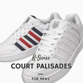 K-SWISS メンズ スニーカー カジュアル シューズ 靴 ファッション ストリート COURT PALISADES 36100510 36100513 白