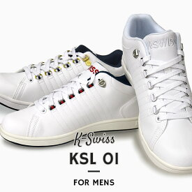 K-SWISS メンズ スニーカー カジュアル シューズ 靴 ファッション ストリート KSL 01 36800010 36800015 36800018 白