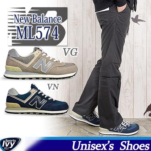 ニューバランス NEW BALANCE ML574 VG/VN WIDTH:D
