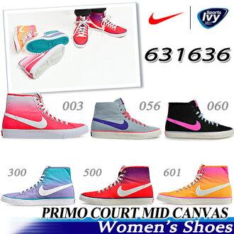 耐吉NIKE婦女Primo大衣中間帆布631636-003/056/060/300/500/601跑步鞋休閒運動鞋促銷