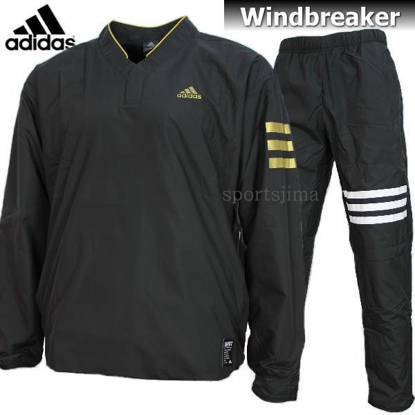 adidas アディダス Baseball 裏起毛 ウィンドブレーカー ジャケット パンツ 上下 DUU68 CD2783 DUU67 CD2761 ブラック