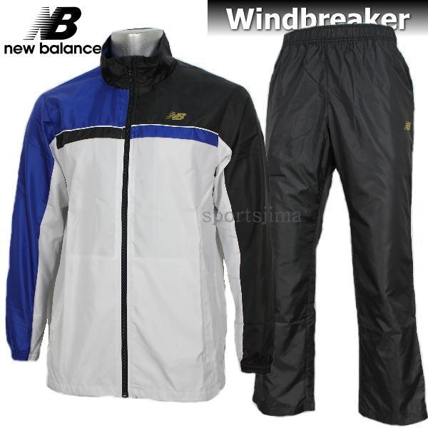 半額以下 ピステ ウィンドブレーカー New Balance ニューバランス Tennis 裏メッシュ ウインドブレーカー 上下 JMJT7613 TRY JMPT7614 BK ホワイトブルー×ブラック