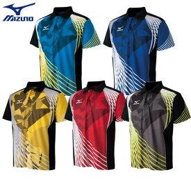 MIZUNO ミズノ 卓球 ユニフォーム 半袖ゲームシャツ 卓球ウェア