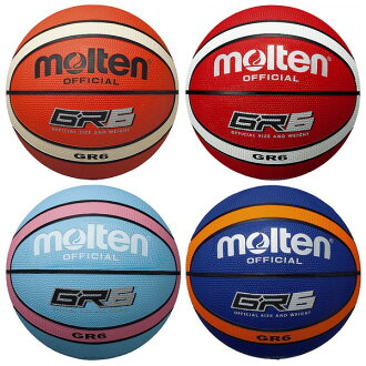 [molten] GR 6 No. 6 ball [basketball / basketball gear]