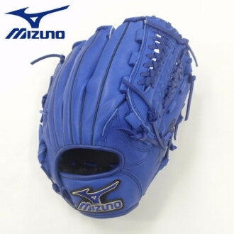 [MIZUNO] GACHI - All-round model for girls boy's soft type R blue (for right casting) [baseball supplies / soft gloves]