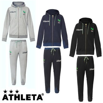 [NEW model] Light sweat ZIP Parker upper and lower set [ATHLETA] Futsal wear / Soccer wear