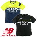 【New Balance-ニューバランス】 VISARO 半袖プラクティスシャツ/プラシャツ 【サッカーウェア/フットサルウェア】◎