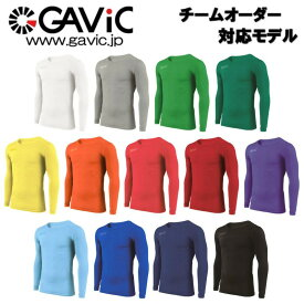丸首タイプ GAVIC ガビック インナー 長袖インナーシャツ サッカーウェア GA8351
