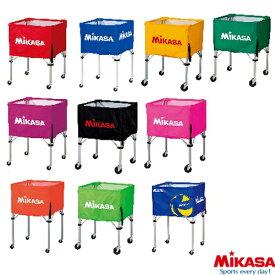 MIKASA ミカサ ボールケース ボールカゴ フレーム 幕体 キャリーケース 3点セット 背高フレーム 高さ103cm バレーボール