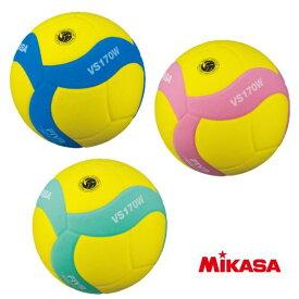 MIKASA ミカサ バレーボール 5号球 FIVB公認 スマイルバレー