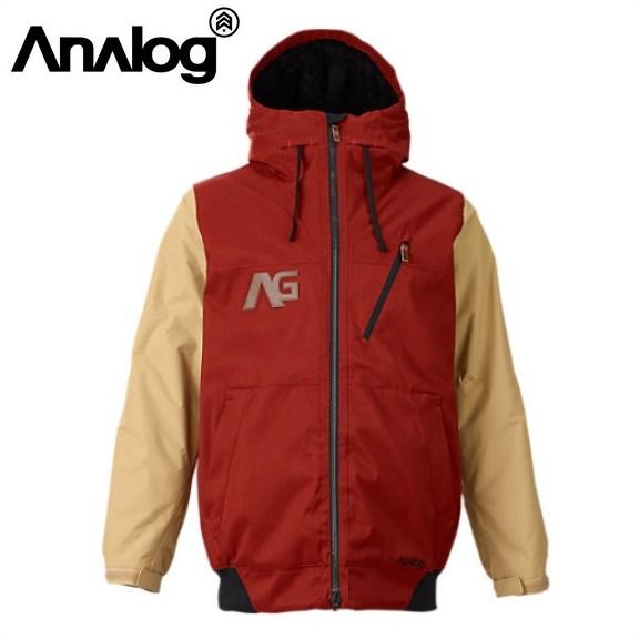 【激安SALE】 GREED Jacket Oxblood/Dune 【ANALOG-アナログ】 15/16 スノーボードウェア/ジャケット 【送料無料/SALE/セール】