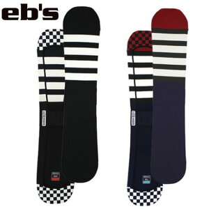 eb's エビス ボードケース KNIT COVER FLAG スノーボード ソールガード