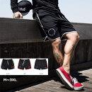 ★送料無料★Manatsulife夏メンズウェットハーフパンツフィットネスパンツトレーニング短パンバスケットボール3色