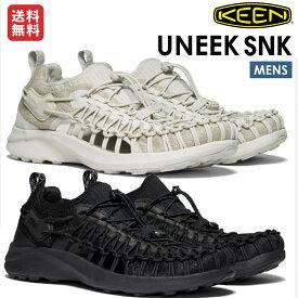 【マラソン期間限定クーポン付き】キーン KEEN UNEEK SNK ユニーク スニーク メンズ オールシーズン サンダル スニーカー フェス スリッポン アウトドア カジュアル 1022384 1022377