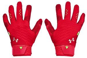 【特別クーポン付き!】アンダーアーマー UNDER ARMOUR ハーパー プロ バッティンググローブ 両手用 レッド 赤 HARPER PRO BATTING GLOVE 野球 バッティング手袋 バッティンググラブ 両手用 1365465-600