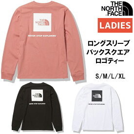 ノースフェイス THE NORTH FACE L/S Back Square Logo Tee ロングスリーブバックスクエアロゴティー レディース カジュアル 長袖 シャツ NTW82131