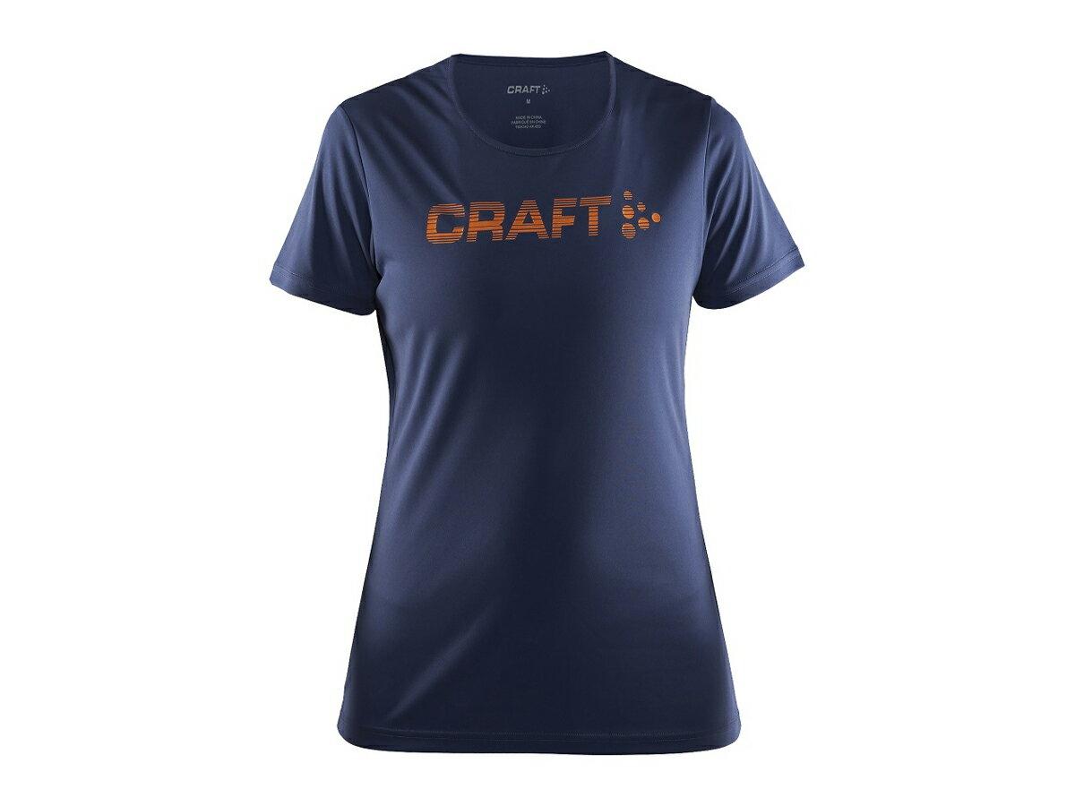 クラフト:【レディース】Prime Logo Tee【CRAFT スポーツ フィットネス 半袖 Tシャツ】【あす楽_土曜営業】【あす楽_日曜営業】