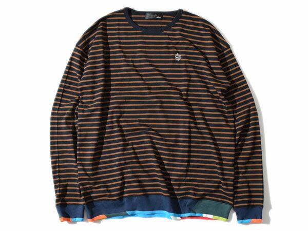 アールディーズ:【メンズ&レディース】リブスウィッチングロングT【ALDIES Rib Switching Long T 長袖Tシャツ】【あす楽_土曜営業】【あす楽_日曜営業】