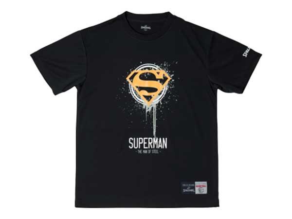 スポルディング:【メンズ】Tシャツ SUPERMAN MOS【SPALDING バスケット ウェア 半袖 Tシャツ】【あす楽_土曜営業】【あす楽_日曜営業】