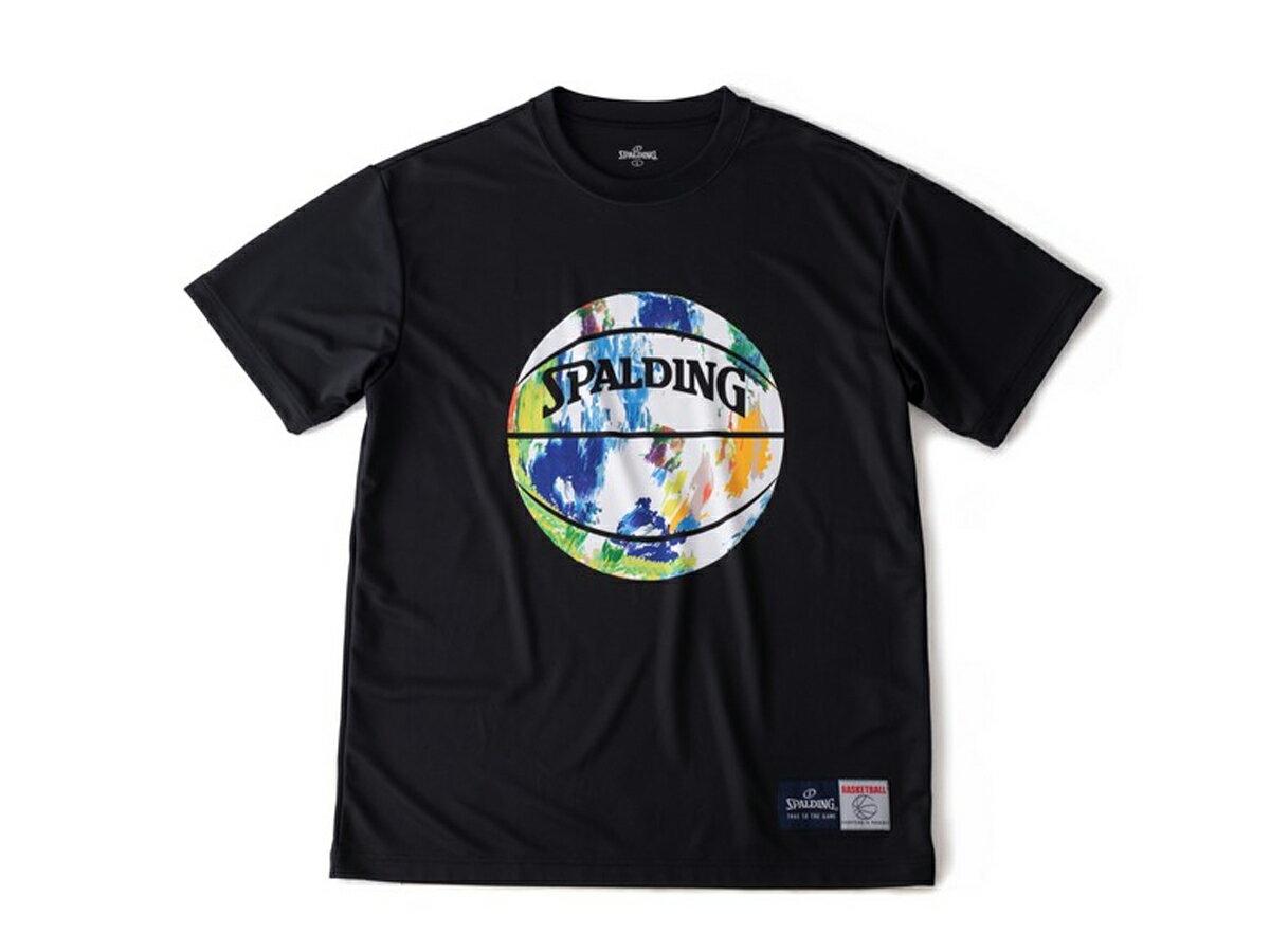 スポルディング:【メンズ】Tシャツーマーブル【SPALDING バスケット ウェア 半袖 Tシャツ】【あす楽_土曜営業】【あす楽_日曜営業】
