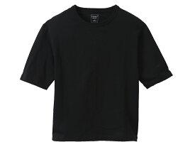 ヘインズ:【レディース】Elbow-length 【5分丈】 Tシャツ【Hanes カジュアル 半袖 シャツ】【あす楽_土曜営業】【あす楽_日曜営業】
