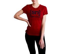 スーパーナチュラル:【レディース】Essential I.D. Tee【sn super.natural エスエヌ スポーツ フィットネス 半袖 Tシャツ】【あす楽_土曜営業】【あす楽_日曜営業】
