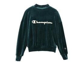 チャンピオン:【レディース】モックネックシャツ【Champion MOCKNECK SHIRT カジュアル スポーツ スウェットシャツ】【あす楽_土曜営業】【あす楽_日曜営業】