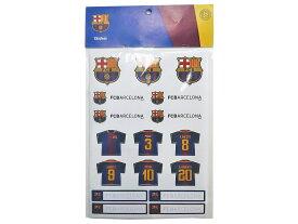 :2017-18 FC FCバルセロナ ステッカーセット【FC Barcelona グッズ シール 文具】【あす楽_土曜営業】【あす楽_日曜営業】 【191013】
