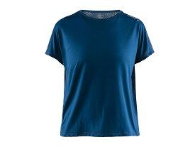 クラフト:【レディース】Eaze SS Ringer Tee【CRAFT スポーツ フィットネス 半袖 Tシャツ】【あす楽_土曜営業】【あす楽_日曜営業】 【191013】