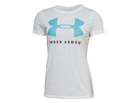 アンダーアーマー:【レディース】テック ビッグロゴ グラフィック Tシャツ【UNDER ARMOUR スポーツ フィットネス 半袖 Tシャツ】【あす楽_土曜営業】【あす楽_日曜営業】