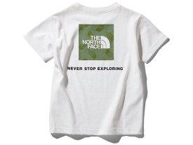 ノースフェイス:【ジュニア】ショートスリーブスクエアロゴグラフィックティー【THE NORTH FACE S/S Square Logo Graphic Tee カジュアル 半袖 Tシャツ】【あす楽_土曜営業】【あす楽_日曜営業】