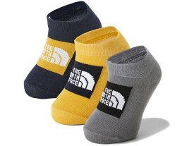 ノースフェイス:【ジュニア】オーガニック 3P【THE NORTH FACE Baby Organic 3P 靴下 ソックス】【あす楽_土曜営業】【あす楽_日曜営業】 【191013】