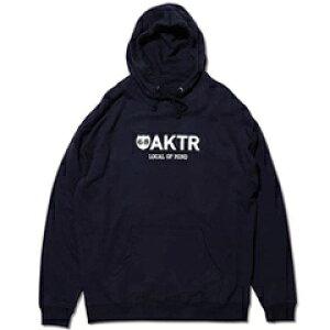アクター AKTR X68 LOGO PARKA ロゴパーカー バスケットボール 219-066010-NV ◇