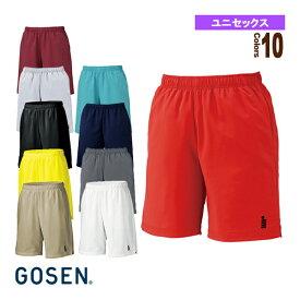 【テニス・バドミントン ウェア(メンズ/ユニ) ゴーセン】 ハーフパンツ/ユニセックス(PP1600)