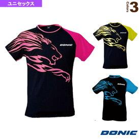 【卓球 ウェア(メンズ/ユニ) DONIC】 シャツ ライオン/ユニセックス(GL079)
