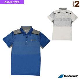 【テニス・バドミントン ウェア(メンズ/ユニ) バボラ】 ゲームシャツ/ユニセックス(BAB-1700)