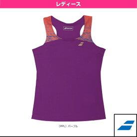 【テニス・バドミントン ウェア(レディース) バボラ】 ノースリーブシャツ/レディース(BAB-1730W)