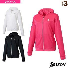【テニス・バドミントン ウェア(レディース) スリクソン】 メッシュジャケット/レディース(SDF-5723W)テニスウェア女性用