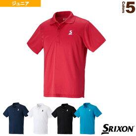 【テニス ジュニアグッズ スリクソン】 ポロシャツ/クラブライン/ジュニア(SDP-1608)