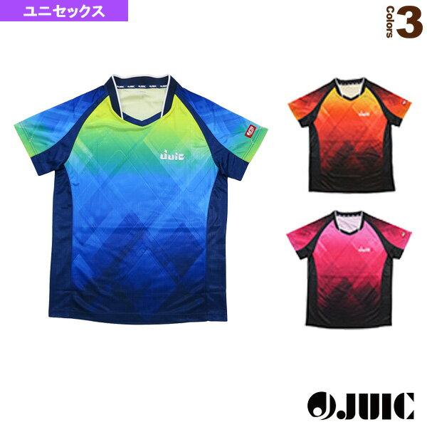 【卓球 ウェア(メンズ/ユニ) ジュウイック】 Vチェック/ユニセックス(5553)