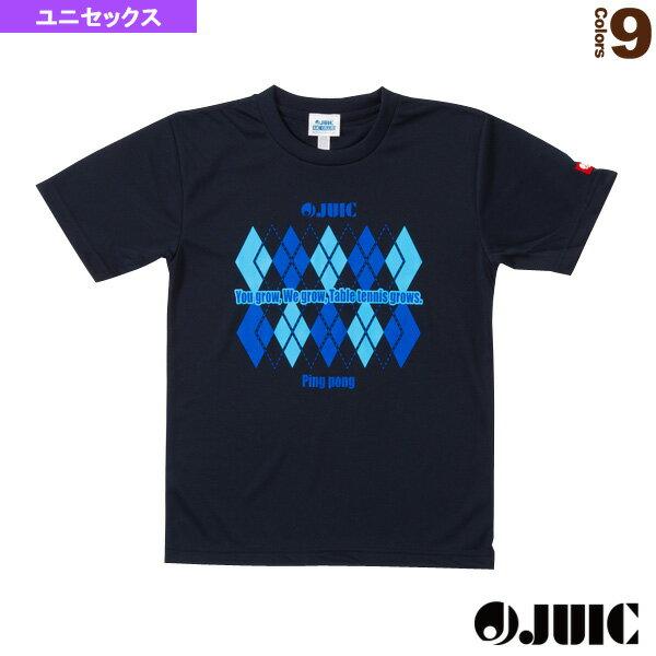【卓球 ウェア(メンズ/ユニ) ジュウイック】 アーガイル T/XXLサイズ/ユニセックス(5498)
