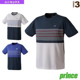 【テニス・バドミントン ウェア(メンズ/ユニ) プリンス】 ゲームシャツ/ユニセックス(WU7025)テニスウェア男性用