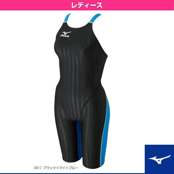 【水泳 ウェア(レディース) ミズノ】Stream Aqucela/ストリーム アクセラ/ハーフスーツ/レディース(N2MG6721)