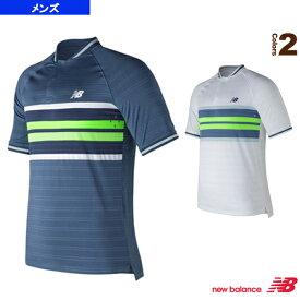 【テニス・バドミントン ウェア(メンズ/ユニ) ニューバランス】 トーナメントヘンリー ゲームシャツ/メンズ(MT73407)