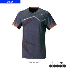 【テニス・バドミントン ウェア(メンズ/ユニ) ディアドラ】 コンペティションシャツ/メンズ(DTG8331)